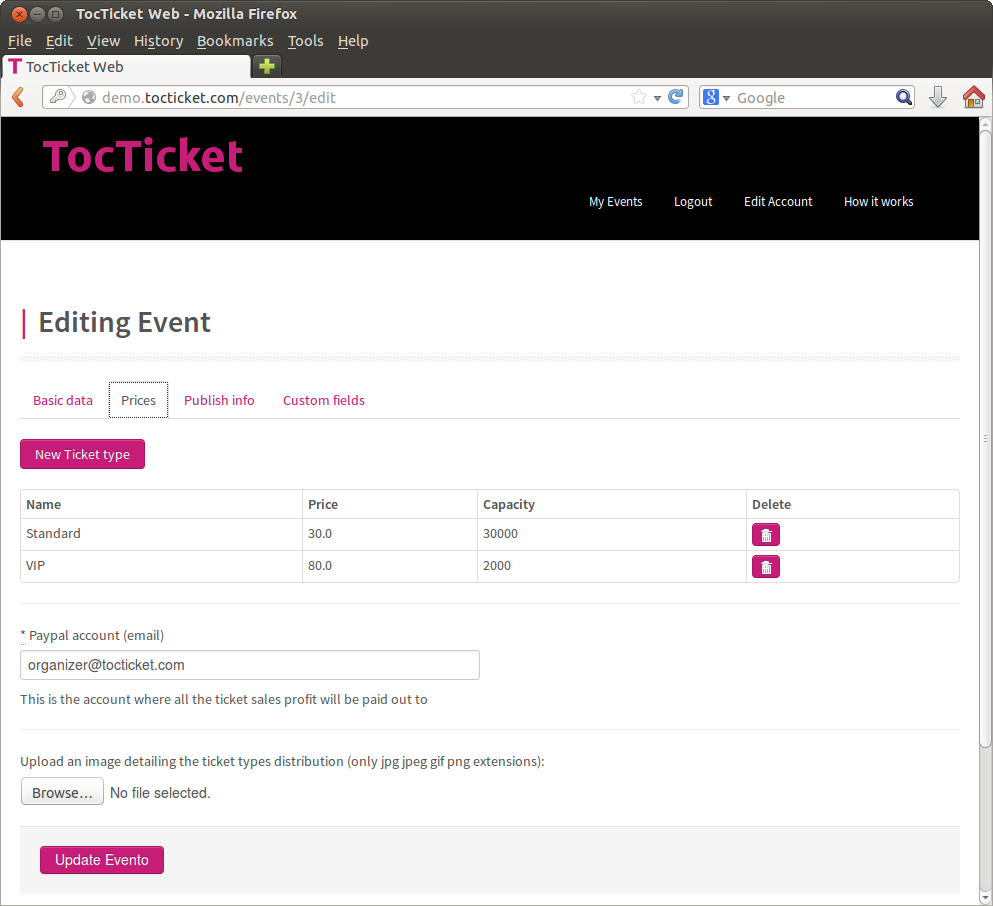 Tocticket